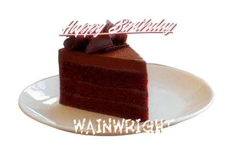 Happy Birthday Wainwright Cake Image