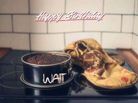 Happy Birthday Wait Cake Image