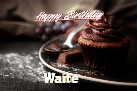 Happy Birthday Cake for Waite