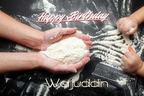 Happy Birthday Wajuddin Cake Image
