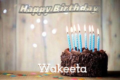 Happy Birthday Wakeeta