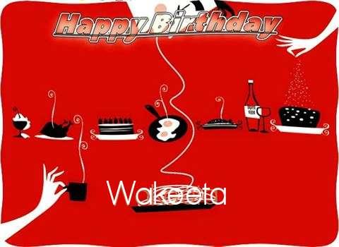 Happy Birthday Wishes for Wakeeta