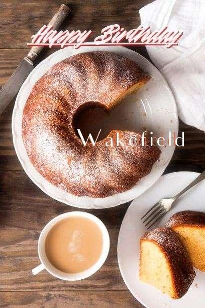 Happy Birthday Wakefield Cake Image