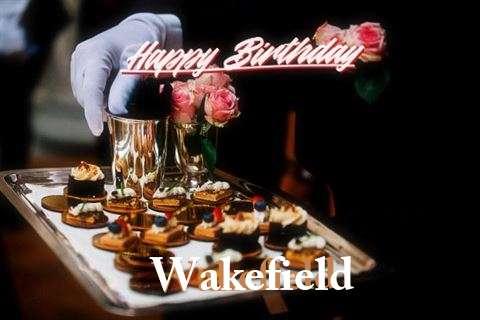 Happy Birthday Cake for Wakefield