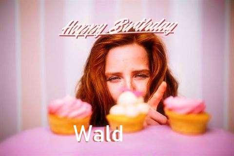 Happy Birthday Cake for Wald