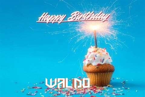 Happy Birthday Cake for Waldo