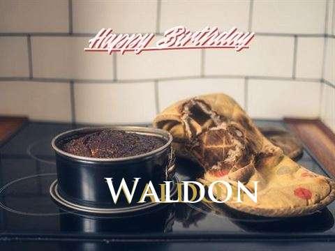 Happy Birthday Waldon Cake Image