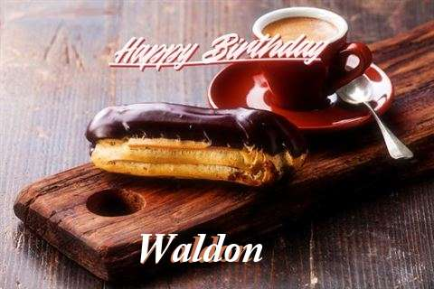 Happy Birthday Wishes for Waldon
