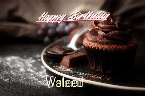 Happy Birthday Cake for Waleed