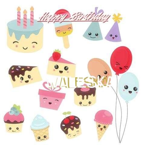 Happy Birthday Cake for Waleska