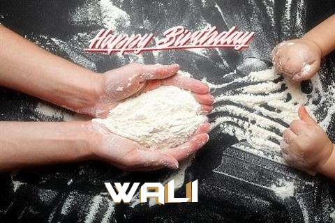 Happy Birthday Wali Cake Image