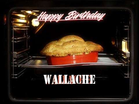 Happy Birthday Cake for Wallache