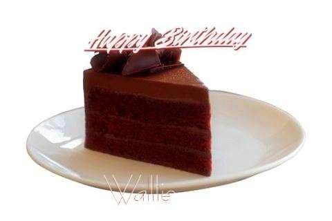 Happy Birthday Wallie Cake Image