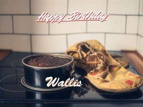 Happy Birthday Wallis Cake Image