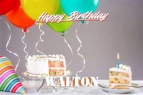 Happy Birthday Walton