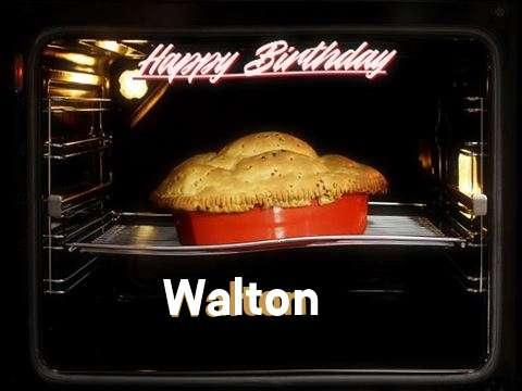 Happy Birthday Cake for Walton