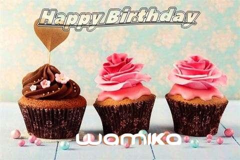 Happy Birthday Wamika Cake Image
