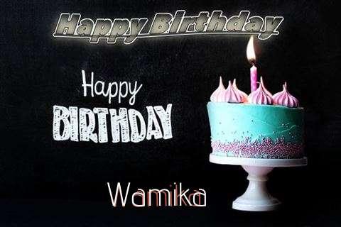 Happy Birthday Cake for Wamika