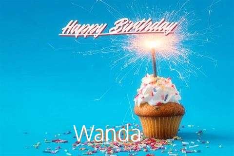 Happy Birthday Cake for Wanda
