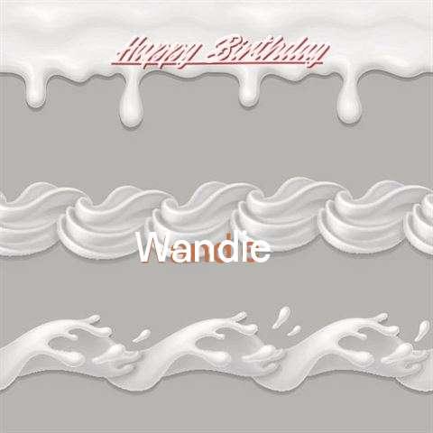 Happy Birthday to You Wandie