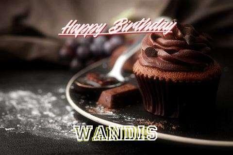 Happy Birthday Cake for Wandis
