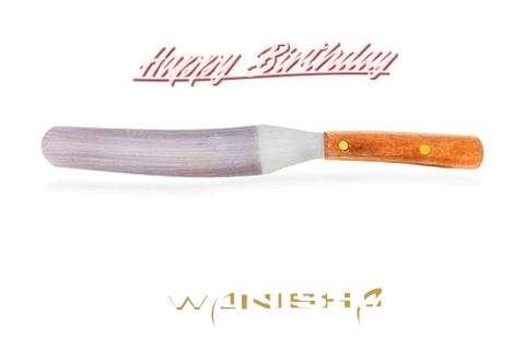 Birthday Wishes with Images of Wanisha