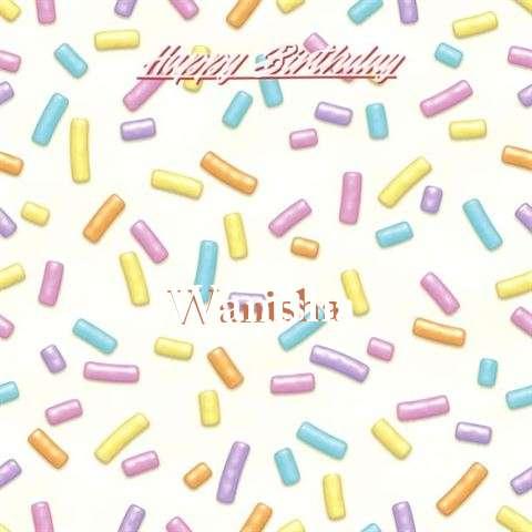 Birthday Images for Wanisha