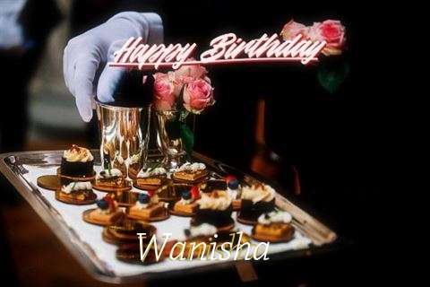 Happy Birthday Cake for Wanisha
