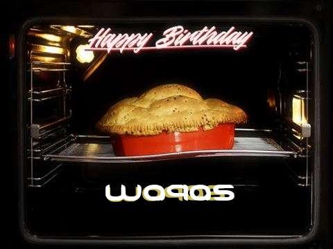 Happy Birthday Cake for Waqas