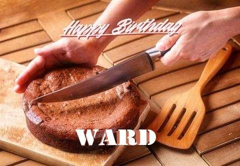 Happy Birthday Ward Cake Image