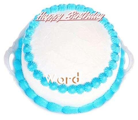 Happy Birthday Wishes for Ward