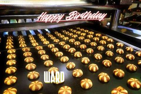 Happy Birthday Cake for Ward