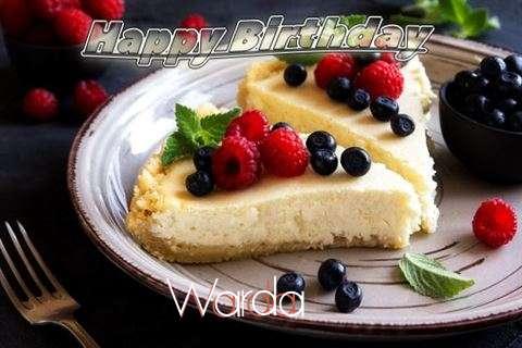 Happy Birthday Wishes for Warda