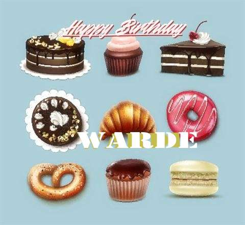 Happy Birthday Warde