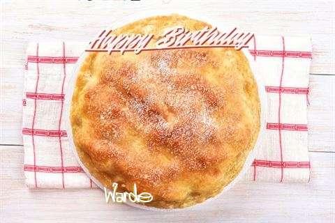Warde Birthday Celebration