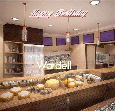 Happy Birthday Wardell Cake Image