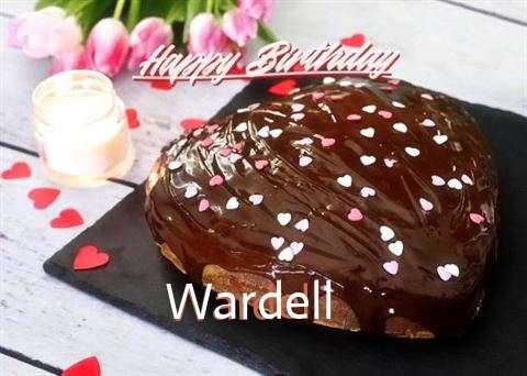 Happy Birthday Cake for Wardell