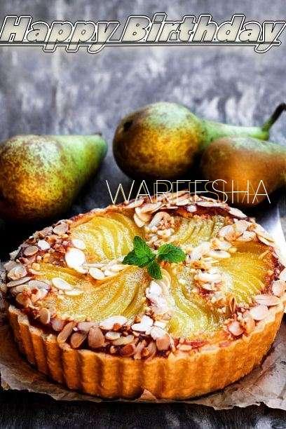 Birthday Wishes with Images of Wareesha