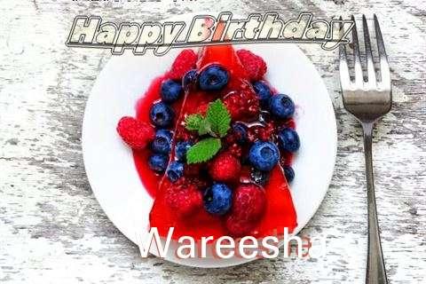 Happy Birthday Cake for Wareesha