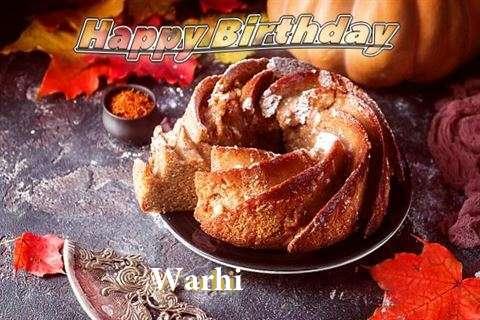 Happy Birthday Warhi