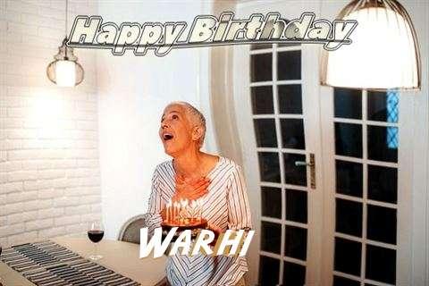 Warhi Birthday Celebration