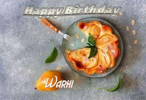 Warhi Cakes