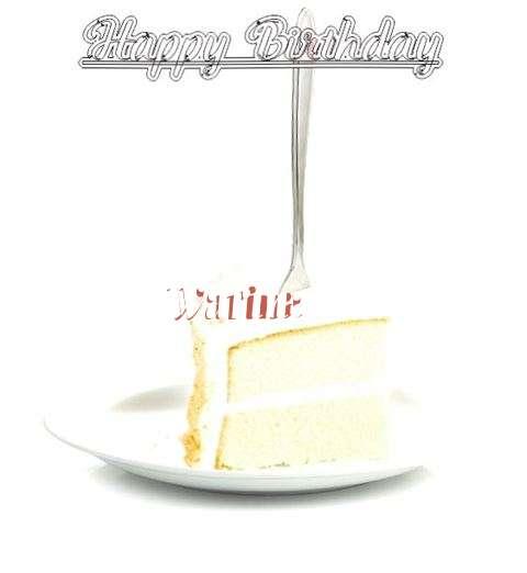 Happy Birthday Wishes for Warina