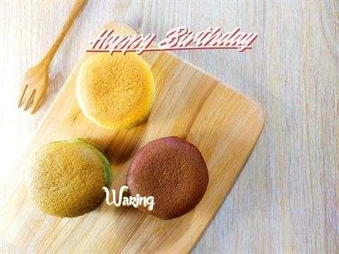Happy Birthday Waring