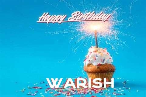 Happy Birthday Wishes for Warish