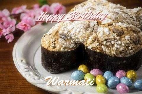 Happy Birthday Wishes for Warmati