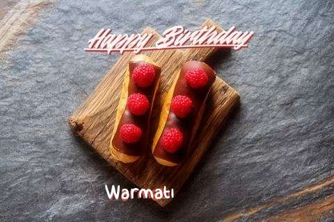 Happy Birthday to You Warmati
