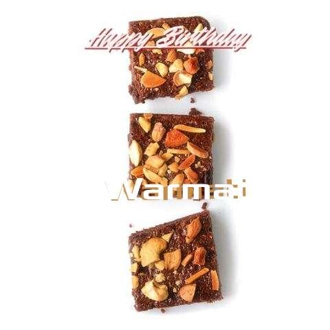 Happy Birthday Cake for Warmati