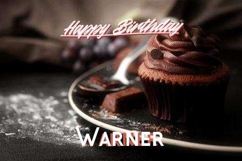 Happy Birthday Wishes for Warner