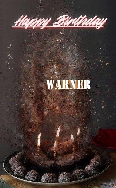 Happy Birthday Cake for Warner